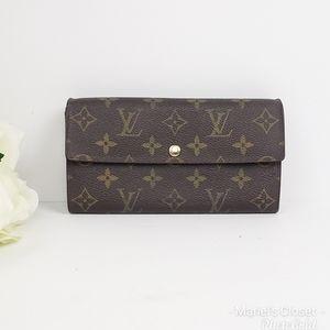 Louis Vuitton Portefeuille Sarah #1696M